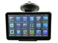 "5"" Car GPS Navigation Sat Nav  Built-in 4GB 64MB RAM WinCE 6.0 FM Mp3 MP4 New Map Built-in Bluetooth"