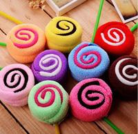Creative practical cake towel gift Lollipop wedding favour Children's Day Gift  birthday gift/Wedding Favor/Christmas gift