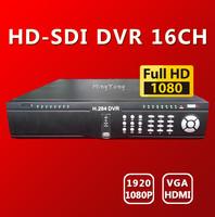 Free shipping DHL, 16CH Full HD 1080P HD-SDi DVR Real time SDI DVR for SDI camera