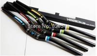 VEETOKA carbon fiber bicycle handlebar 600/620/640/660/680/700*31.8MM Riser MTB&Road bike handlebar Yellow / Red / Green / Blue