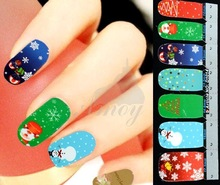 christmas nail art promotion