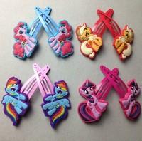 My little pony Girls Headwear Hair Claws Fashion Cartoon Apparel & Accessories