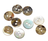 Wholesale 200 Mother of Pearl Round Sewing Buttons Scrapbooking Free Shipping