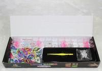 50sets new 2014 loom kit box Loom rubber bands Kit knitting machines