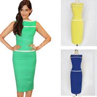 Fashion Uprising  2014 New Casual Slim Dress Classic One-piece Dress