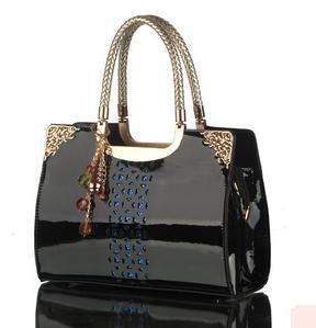 New 2014 Fashion Crown Desigual Brand Women Handbag Patent Leather Hollow Shoulder Bag Women Messenger Bags Neon Bags Bolsas(China (Mainland))