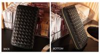 Ms. Knit  Zipper Long Wallet In Box Packing