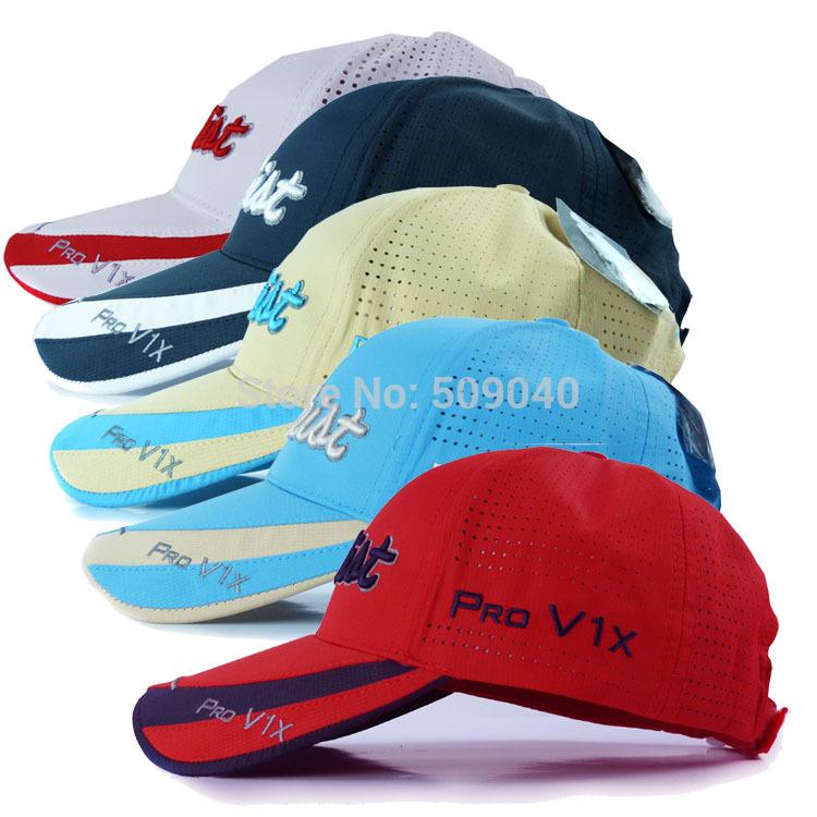 Бросился настоящее надписи взрослые активный унисекс акрил регулируемый гольф шляпа бейсбол кепка мяч спорт вилочная часть