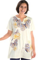 2Color 4XL-8XL Oversize Print Blouse Casual Women Tee Top Ladies T-shirt  Plus Big Large Size 5XL 6XL XXXXXL XXXXXXL 2014 Summer