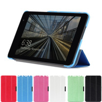 New 3-folding Leather Case Skin Smart Cover Auto Sleep Stand For Dell Venue 8 Pro tablet