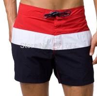 5pcs summer Hot 2014 French fashion brand designer mens sport leisure beach surf high-quality swimming shorts men beach pants