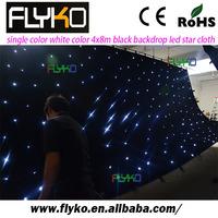 white led star cloth curtain 4m*8m/LED truss curtain/LED truss backdrop