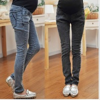 Maternity Clothes Pregnant Women/ Maternity/ Women's Plus Size Black/ Blue Feet Jeans XHJ6