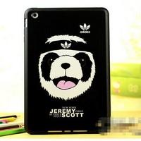 New arrival Korea candy colour iface cartoon case for ipad mini TPU Cover cases for ipad mini,Free shipping