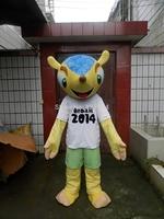 2014 World Cup football cup mascot cartoon dolls clothing adult puppet show festival cartoon dress