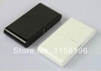 Portable Mobile Power Bank 20000mAh Emergency External Battery Pack 5 Colors Output 5V 2.1A / 5V 1A + Retail Box 20pcs/lot