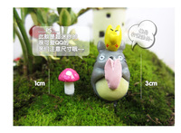free shipping Mini multi-colored resin mushroom bryophytes meat bottle diy accessories decoration