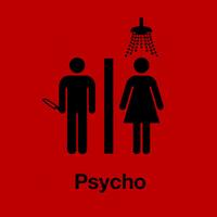 High Quality Classic Film Movie Psycho 100% Cotton Casual Fashion Printed T-shirt Tee Dress Camiseta Cloth