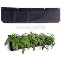 Hotsale Home Decor Four Pocket Vertical Garden Wall Planter Wally Create Green Wall Easily