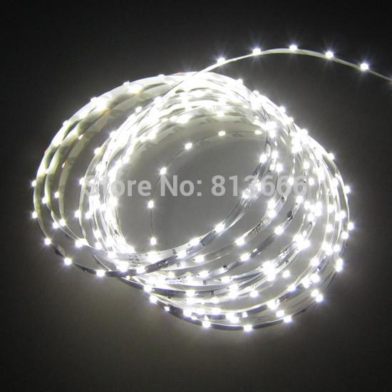 5m 335 Side Emitting LED Strip 5M 300 White Light non-Waterproof 5mm width(China (Mainland))