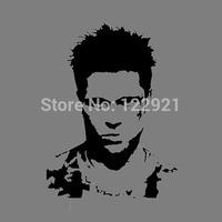 High Quality Classic Film Movie Fight Club Brad Pitt Face 100% Cotton Casual Fashion T-shirt Tee Dress Camiseta Cloth