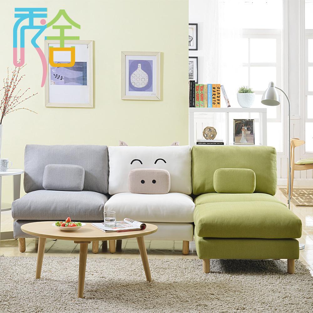 appartamento composto da soggiorno divano piggy creativa ikea mobili ...