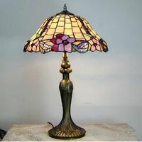 Hot Sale Free Shipping Lighting lamps and lanterns Tiffany lamp European study bedroom desk lamp YSL-963