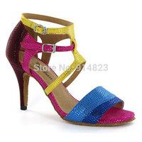New arrival In stock CDSO10218 wholesale & retail fashion salsa shoe high heel  ,women latin dance shoes high heels /Ballroom