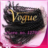 Free shipping brazilian human hair lace top closures, Brazilian virgin hair closure bleached knots baby hair,kinky curly closure