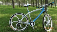 "Free shipping on all SMN transmission system 26 ""new rainbow mountain bike 24 speed Xuelang tire integral wheel speed"
