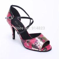 New arrival In stock CDSO10221 wholesale & retail fashion salsa shoe high heel  ,women latin dance shoes high heels /Ballroom
