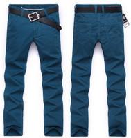 free shipping men's pants , spring 2014 men's fahion pants , long length casual men pants 45