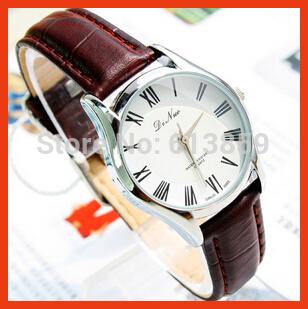 Genuine leather belt quartz watch company supply waterproof ladies watches(China (Mainland))