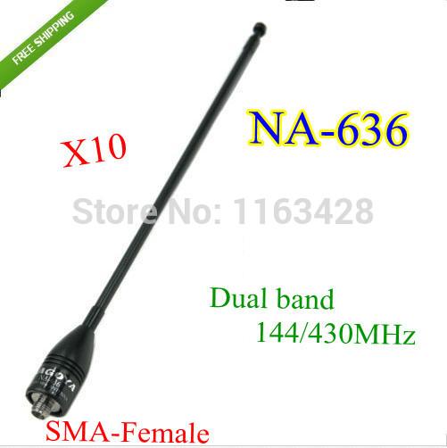 OEM 10 144/430 na/636 : SMA walkie talkie BAOFENG 5R B6 PX /888k UVD1P NA-636 2015 comunicador 10 na 774 sma f femaleuhf uv6 px 888k tg uv2