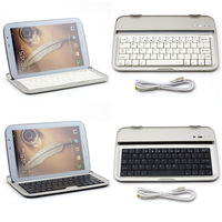 For Samsung Galaxy Note 8.0 N5100 N5110 Bluetooth Aluminium Wireless Keyboard Dock Case Cover Shell Ultra-thin