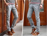 free shipping men's pants , casual men jean long pants , fashion straight zipper mens pants 54