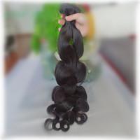Aliexpress 5A unprocessed new star mixed length 1pcs lot best quality peruvian virgin hair extension body wave machine weft