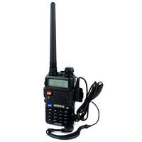Baofeng Pofung UV-5R Walkie Talkie UV-5R 5W FM Radio 128CH VHF + UHF VOX Dual Band Two Way Radio  UV-5R A7108A Free earpiece