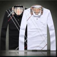 2014 Famous Brand Top Designer Men's T shirt/ Men Fashion Long Sleeve T-shirt,Full length T Shirt Men Tees,Plus Size M-3XL B1