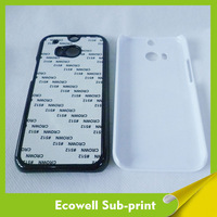 Blank photo printing case sublimation cover for HTC M8 with sublimation metal insert 100pcs/lot free shipping by DHL