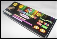 50 pcs 2014 Hot Loom Kits Rubber Bands Bracelet DIY Refills Children Toy Gift Free Shipping