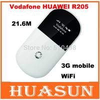 Original Unlocked vodafone huawei R205 21.6M 3G mobile wifi router HSPA+ pocket wifi hotspot free shipping