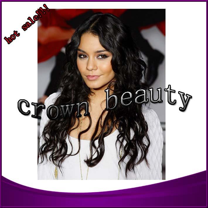 Cheap price 100% virgin brazilian glueless full lace wigs human hair human hair wigs for african american black women(China (Mainland))