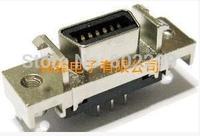 SCSI Connector female socket 14p 180 degrees DIP Slot type