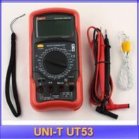 UNI-T Digital Multimeter UT53 3 1/2 digits 20~1000C temperature measurement sleeping function full ranges overload protection