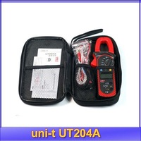 Free Shipping UNI-T UNIT UT204A Digital Handheld Clamp Multimeter Tester DMM Voltmeter AC DC
