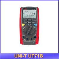 free shipping UNI-T UT-71B LCD IIntelligent Digital Multimeter USB to PC True RMS