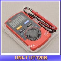 free shipping UNI-T UT120B LCD Digital Pocket Volt Meter Voltmeter AC Tester Multimeter