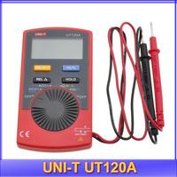 free shipping UNI-T UT120A Super Slim Meter Pocket Handheld Digital Multimeters Mini multimeter