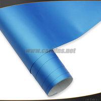 Crystal blue Carbins matte color car vinyl wrap good quality!